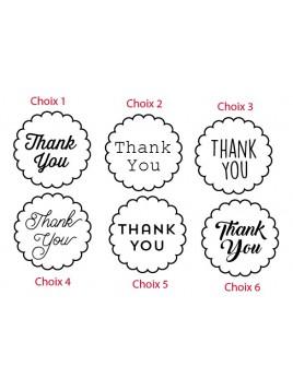 Thanks You 001 - Emporte-pièce pour pâtes à sucre et sablés sur le thème Mariage