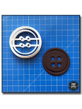Emporte-Pièce 3D Bouton 001 - Emporte-pièce