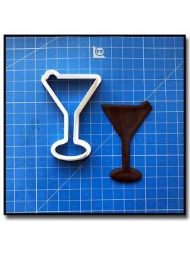 Verre de Martini 201 - Emporte-pièce pour pâtes à sucre et sablés sur le thème Nourriture