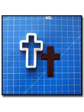 Croix 201 - Emporte-pièce pour pâtes à sucre et sablés sur le thème Noël