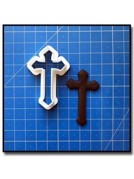 Croix de Baptême 201 - Emporte-pièce pour pâtes à sucre et sablés sur le thème Bâpteme
