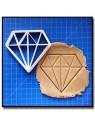 Diamant Origami 001 - Emporte-pièce pour pâtes à sucre et sablés sur le thème Origami