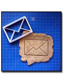 Enveloppe 001 - Emporte-pièce pour pâtes à sucre et sablés sur le thème Voyage