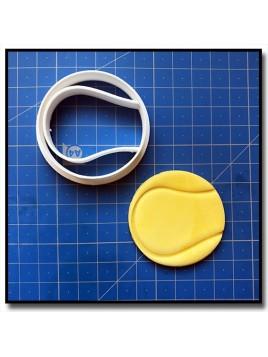 Balle de Tennis 001 - Emporte-pièce pour pâtes à sucre et sablés sur le thème Sports
