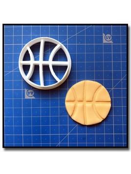 Ballon de Basket 001 - Emporte-pièce pour pâtes à sucre et sablés sur le thème Basketball