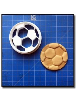 Ballon de Football 001 - Emporte-pièce pour pâtes à sucre et sablés sur le thème Football