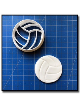 Ballon de Volley 001 - Emporte-pièce pour pâtes à sucre et sablés sur le thème Sports