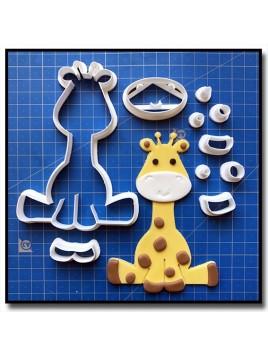 Girafe Bébé 101 - Emporte-pièce en Kit pour pâtes à sucre et sablés sur le thème Safari