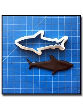 Requin 201 - Emporte-pièce pour pâtes à sucre et sablés sur le thème Mer & Océan
