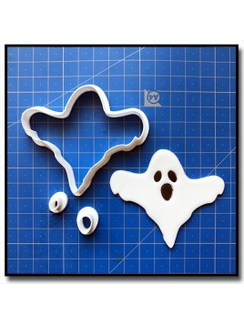 Fantôme 101 - Emporte-pièce en Kit pour pâtes à sucre et sablés sur le thème Halloween