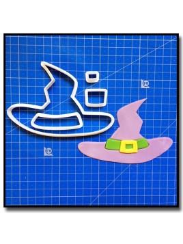 Chapeau de Sorcière 101 - Emporte-pièce en Kit pour pâtes à sucre et sablés sur le thème Halloween