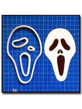 Scream 101 - Emporte-pièce en Kit pour pâtes à sucre et sablés sur le thème Films, Cinéma et TV