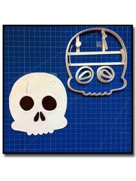 Tête de Mort 101 - Emporte-pièce en Kit pour pâtes à sucre et sablés sur le thème Pirate