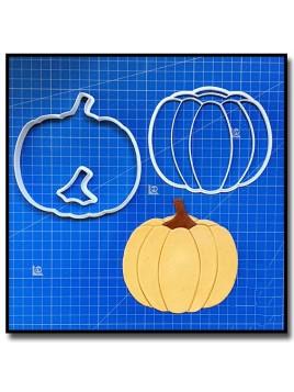 Citrouille 101 - Emporte-pièce en Kit pour pâtes à sucre et sablés sur le thème Halloween