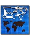 Carte du Monde 201 - Emporte-pièce