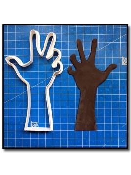 Main de Zombie 201 - Emporte-pièce pour pâtes à sucre et sablés sur le thème Halloween