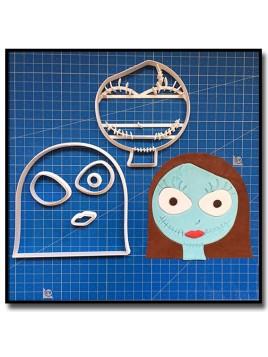 Sally Skellington 101 - Emporte-pièce en Kit pour pâtes à sucre et sablés sur le thème Disney