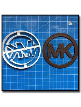 MK Logo 201 - Emporte-pièce pour pâtes à sucre et sablés sur le thème Mode & Fashion