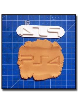 PS4 Logo 301 - Tampon pour pâtes à sucre et sablés sur le thème Jeux Vidéos