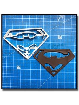 Super-Batman 201 - Emporte-pièce pour pâtes à sucre et sablés sur le thème Super-Heros