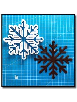 Étoile des neiges 201 - Emporte-pièce pour pâtes à sucre et sablés sur le thème Noël