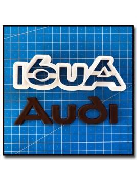 Audi Logo 101 - Emporte-pièce en Kit pour pâtes à sucre et sablés sur le thème Voiture
