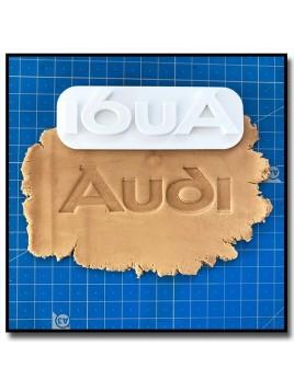 Audi Logo 301 - Tampon pour pâtes à sucre et sablés sur le thème Voiture