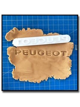 Peugeot Logo 301 - Tampon pour pâtes à sucre et sablés sur le thème Voiture