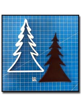 Sapin 201 - Emporte-pièce pour pâtes à sucre et sablés sur le thème Noël