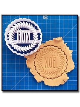 """Petit Sablé """"Noël"""" 001 - Emporte-pièce pour pâtes à sucre et sablés sur le thème Noël"""