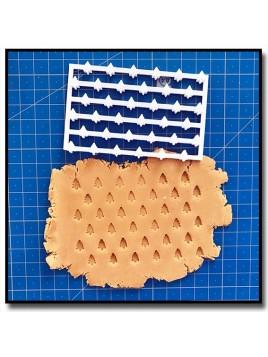 Sapin 301 - Tampon pour pâtes à sucre et sablés sur le thème Noël