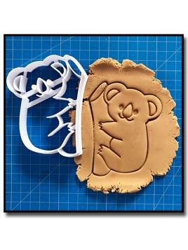 Koala 001 - Emporte-pièce pour pâtes à sucre et sablés sur le thème Animaux sauvages