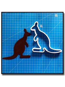 Kangourou 201 - Emporte-pièce pour pâtes à sucre et sablés sur le thème Animaux sauvages