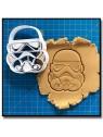 Stormtrooper 001 - Emporte-pièce pour pâtes à sucre et sablés sur le thème Star Wars