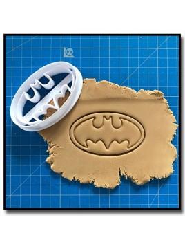 Batman 001 - Emporte-pièce pour pâtes à sucre et sablés sur le thème Super-Heros