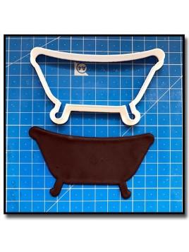Emporte-Pièce 3D Baignoire Vintage 201 - Emporte-pièce