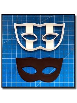 Masque de Venise 202 - Emporte-pièce pour pâtes à sucre et sablés sur le thème Bal masqué