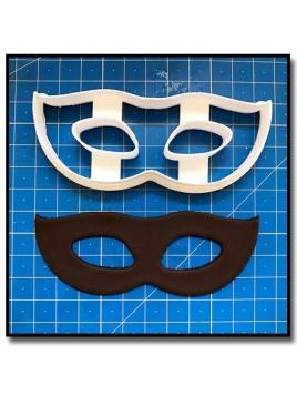 Masque de Venise 204 - Emporte-pièce pour pâtes à sucre et sablés sur le thème Bal masqué