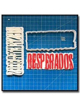Desperados 101 - Emporte-pièce en Kit pour pâtes à sucre et sablés sur le thème Nourriture