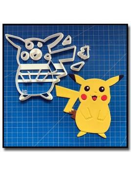 Pikachu 101 - Emporte-pièce en Kit pour pâtes à sucre et sablés sur le thème Pokemon