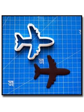 Avion 201 - Emporte-pièce pour pâtes à sucre et sablés sur le thème Avion