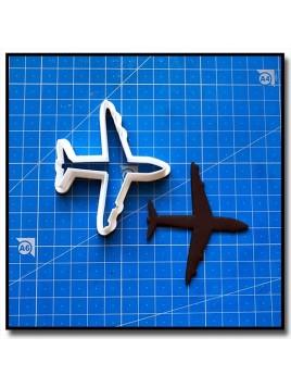 Avion 202 - Emporte-pièce pour pâtes à sucre et sablés sur le thème Avion