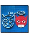Bidou / Owlette Pyjamasques 101 - Emporte-pièce en Kit
