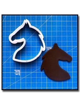 Cheval 201 - Emporte-pièce pour pâtes à sucre et sablés sur le thème Chevaux et équitation