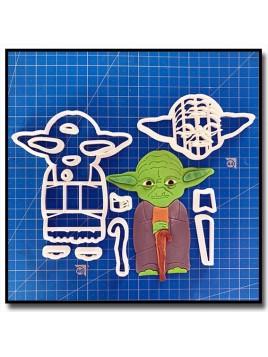 Yoda 102 - Emporte-pièce en Kit pour pâtes à sucre et sablés sur le thème Star Wars