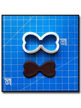 Nœud Papillon 203 - Emporte-pièce pour pâtes à sucre et sablés sur le thème Moustache & Noeud Pap