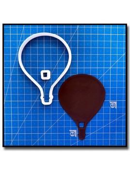 Montgolfière 202 - Emporte-pièce pour pâtes à sucre et sablés sur le thème Dans les airs