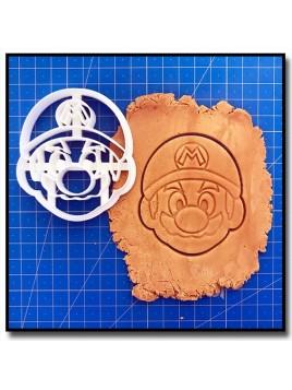 Mario 003 - Emporte-pièce pour pâtes à sucre et sablés sur le thème Super Mario