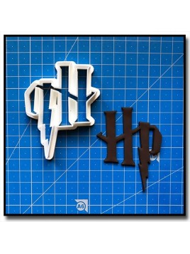 Harry Potter Logo 201 - Emporte-pièce pour pâtes à sucre et sablés sur le thème Harry Potter