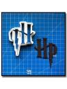 Harry Potter Logo 201 - Emporte-pièce